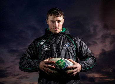 Robbie Henshaw had an outstanding game in France last weekend.