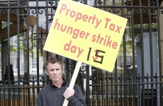 Former Dáil hunger striker ends sit-in at Dublin bank