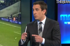 VIDEO: Gary Neville compares 4-4-2 with Opal Fruits on MNF