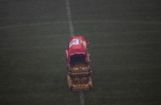 Eusebio's coffin placed on Benfica pitch as thousands turn out to say goodbye