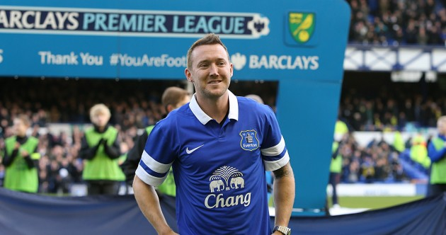 Confirmed: Ireland's Aiden McGeady has signed for Evert