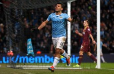 Aguero saves City blushes as Everton cruise past Stevenage