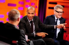 People are ragin' that Graham Norton didn't ask Thierry Henry about THAT handball incident