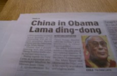 This Daily Record headline about Obama is unstoppably good