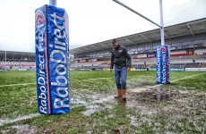Tonight's Ulster v Scarlets Pro12 clash is… OFF