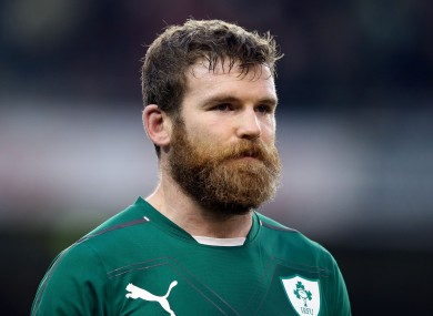 Gordon D'Arcy is back in the centre for Ireland.