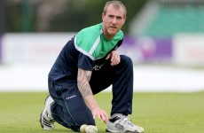 Ireland cricketer John Mooney flies home with 'stress-related illness'