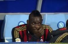 'Beautiful' Balotelli tears no concern, says Seedorf