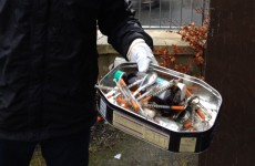 Over 30 syringes found in a boarded up council house
