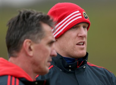 O'Connell is certain that this revelation will not affect Munster's form.