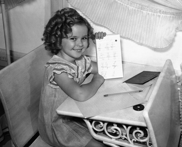 Shirley Temple Los Angeles 1935