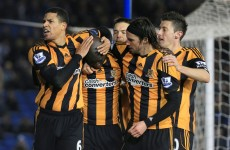 Yannick Sagbo spares Hull's blushes at Brighton