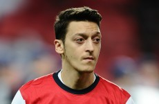 Arsenal's Mesut Ozil apologises for his performance against Bayern