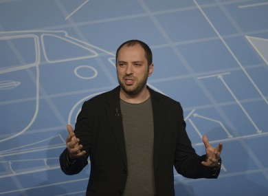 WhatsApp founder Jan Koum speaking at MWC 2014.