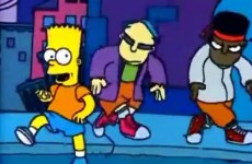 On this night in 1991 you were listening to… Do the Bartman