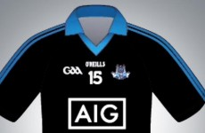 Here's a first look at Dublin's new away jersey
