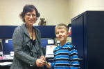 This eight-year-old raised over �13k to help pay for his classmates' school lunches