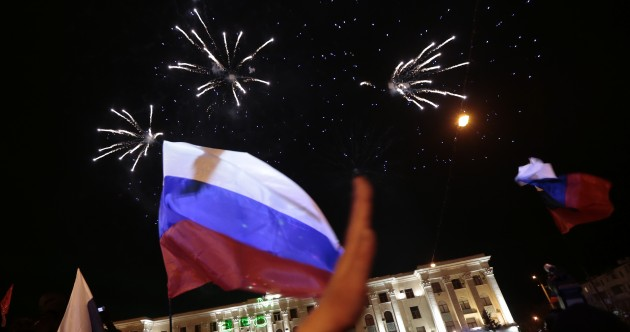 Crimea officially asks to rejoin Russia in Cold War-style stand-off