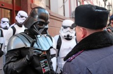 Darth Vader is running for president of Ukraine…