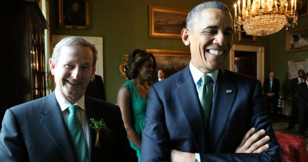 11 pictures of Enda Kenny having a great time in America