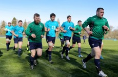 Healy and O'Mahony set for Parisian showdown after coming through training