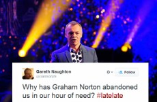 Twitter was lost without Graham Norton last night