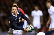 Scotland secure five-week rest for Greig Laidlaw with view to 2015 World Cup