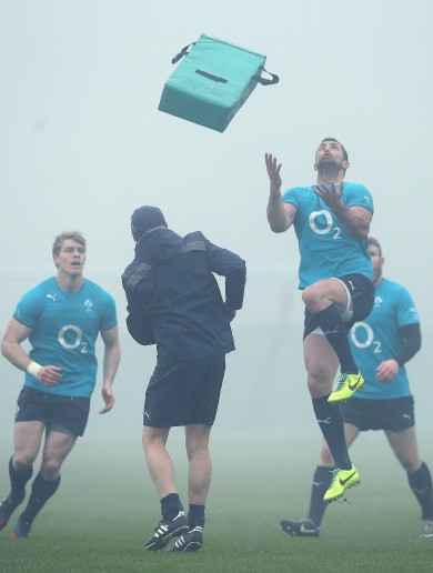 The best pictures from Ireland's final training run on home soil
