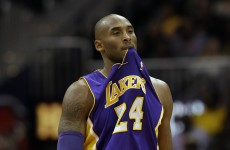 Bad news, Lakers… Kobe Bryant's season is over