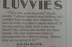 Salma Hayek has the biggest First World Problem of all time