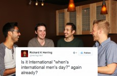 Brilliant Tweeter responds to every lad asking about International Men's Day