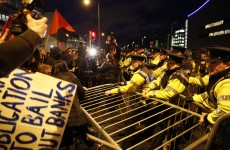 Three charged over protests outside European People's Party congress