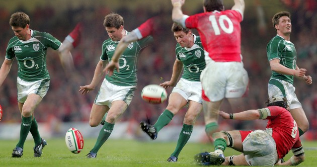 It's five years since Ronan O'Gara clinched the Grand Slam in drop kick style