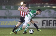 Late Kilduff header earns Rovers a point against Collins' Derry