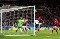 Sturridge header rescues victory for England against Denmark