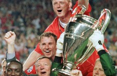 5 previous meetings between Bayern Munich and Manchester United
