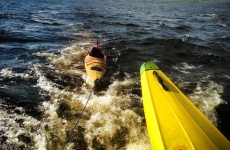 Two men rescued from Lough Derg