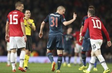 Rooney insists he didn't dive or try to get Bayern star Schweini sent-off