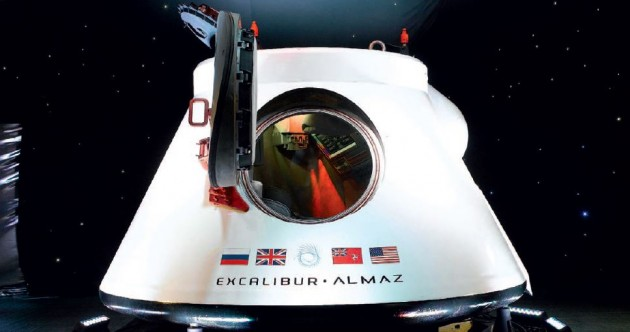 Looking to invest in a Soviet-era space capsule? Yours for a cool €1.4 million