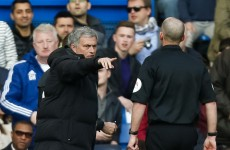 Lashings of sarcasm from Jose Mourinho as he 'congratulates' referee Mike Dean