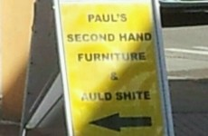 This sign for a Clonakilty second-hand shop is brilliantly honest