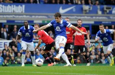 As it happened: Everton v Manchester United, Premier League
