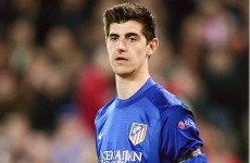 Playing Courtois against parent club Chelsea could cost Atletico Madrid €6m
