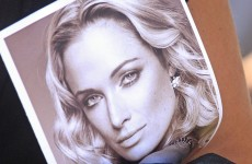 VIDEO: Oscar Pistorius shown graphic and disturbing photo of Reeva's bloodied head