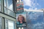 Whoops: Fianna Fáil candidate's poster blocks traffic lights