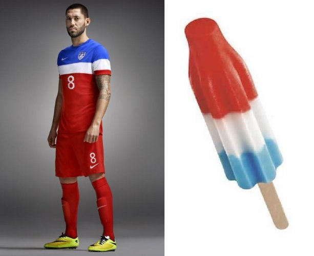 Image result for us soccer popsicle jersey