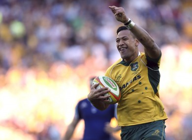 Israel Folau and Australia piled on the misery for France this month.