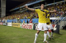 Colombia have a new saviour as 22-year-old James Rodriguez inspires crushing win