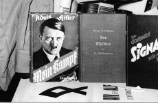 Antiques dealer charged for selling Mein Kampf