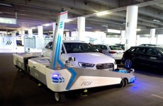 Stuck trying to find a parking space? This robot will park your car for you